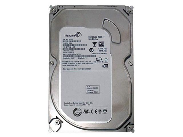"4 x Seagate HDD 3.5"" 320GB Barracuda 7200 - 1/1"