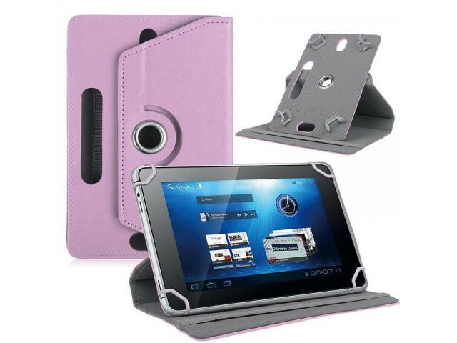 360 Degrees Rotation Case Cover For Android Tablet - 1/1