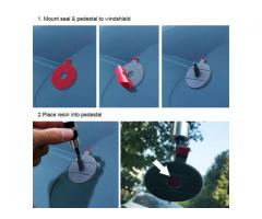 Glass Windscreen Repair Set