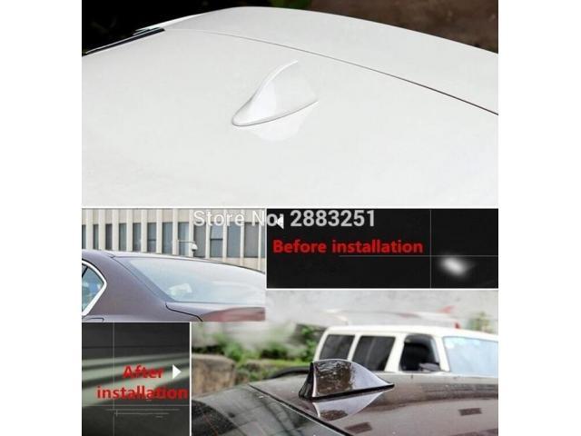 Car Roof Shark Fin Radio Signal антенна - 2/3