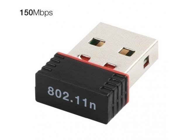 Mini WiFi Wireless адаптер USB 2.0 - 1/1