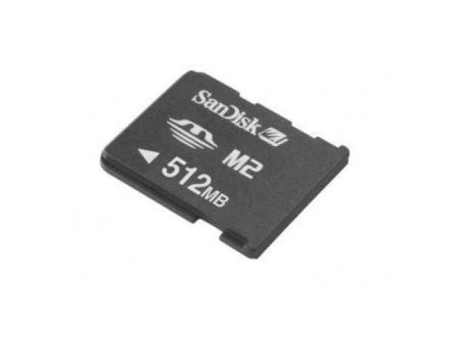 Sandisk MemoryStick Micro M2 512MB - 1/1