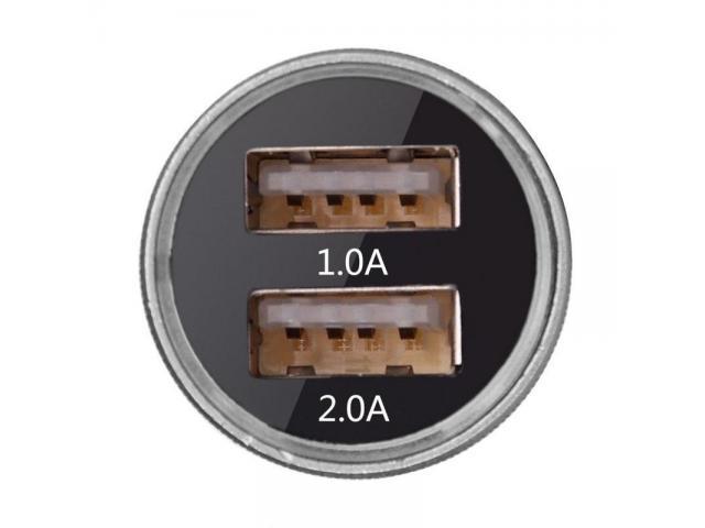 Dual USB Car Charger Cigarette - 2/2