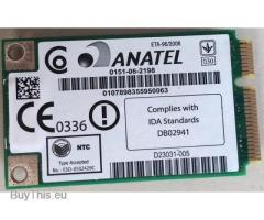 Anatel mini pci-e wireless card