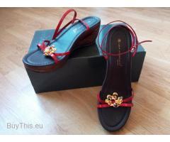 Новые кожаные босоножки Lea Foscati
