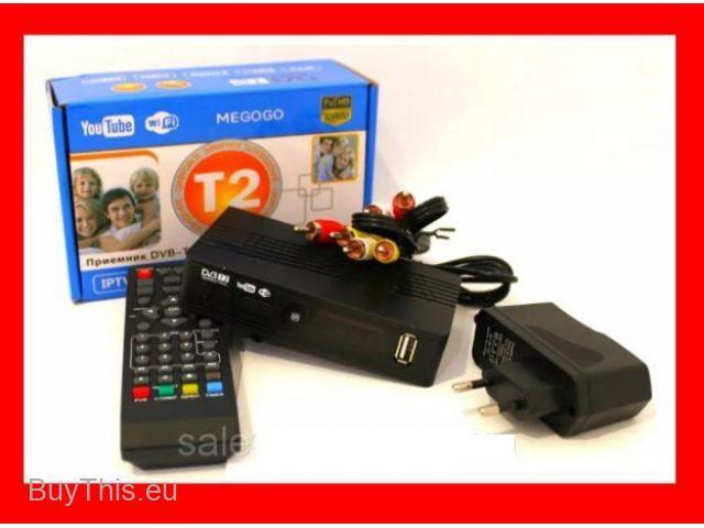 Приставка Тюнер Т2 ресивер цифровой MeGoGo DVB-T2 Т9 с Wi-Fi и USB - 1/1