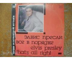 Виниловая пластинка Элвис Пресли