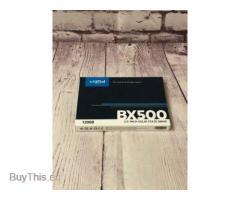 SSD накопитель Crucial BX500 120Гб