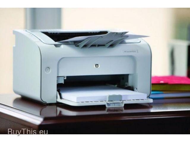 Принтер лазерный HP P1005 - 1/1