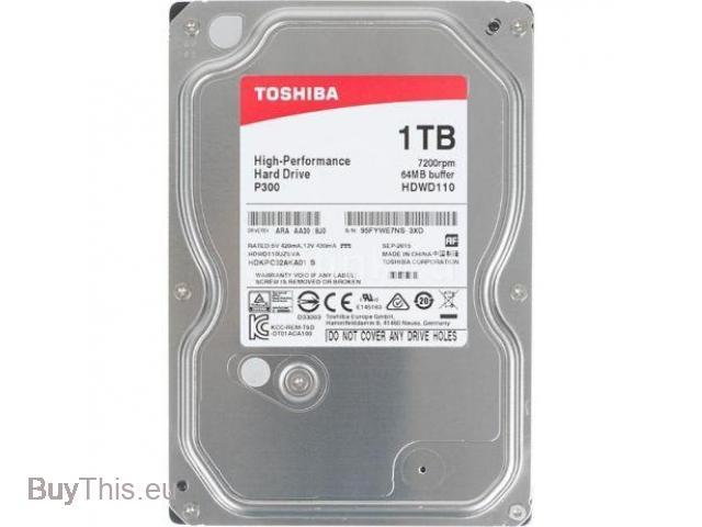 Жесткий диск TOSHIBA P300 HDWD110UZSVA 1000 Гб - 1/1