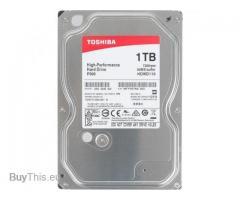 Жесткий диск TOSHIBA P300 HDWD110UZSVA 1000 Гб
