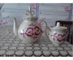 Чайник заварной и сахарница СССР