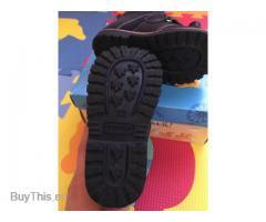 Ботинки кожаные Котофей, на байковой подкладке