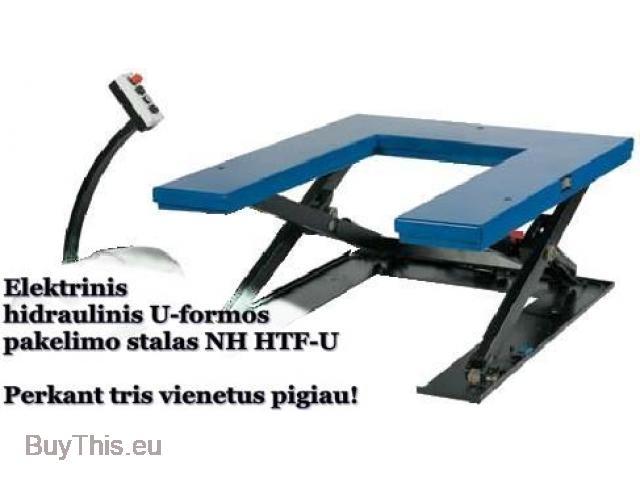 21-32-131 Электрогидравлический подъёмный стол U-формы NH HTF-U - 2/4