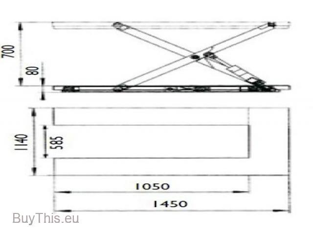 21-32-131 Электрогидравлический подъёмный стол U-формы NH HTF-U - 4/4