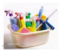Профессиональная уборка помещений, мытьё окон, глажка белья
